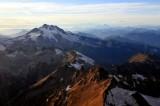 evening light on Glacier Peak