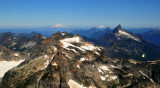 Monte Cristo Peak and Mt Baker