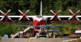 Seaplane vs Floatplane, S[proat Lake, Vancouver Island, Canada
