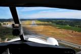 Beaver landing on runway 34 at Nanaimo BC