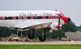 right crosswind landing DC-3