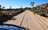drive down dirt road