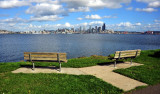 Alki View of downtown Seattle