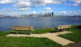 Alki View of downtown Seattle