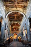 Alter and Ceiling of Chiesa di San Miniato al Montie