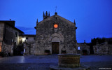 orange light San Maria Assunta