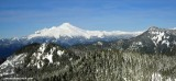 Panoramic of Mount Baker