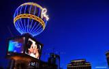 Blue sky in Vegas