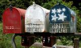 patriotic mailboxes