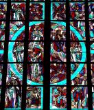 stainglass in AC cathedral