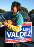 Went to vote early - Lupe Valdez was there