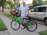 Jacob's New bike