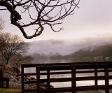 Fog Over Clinch River - East Tennessee