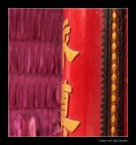7108 Saigon, detail of temple