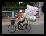 9586 Nha Trang, lady with candy flosses on bike