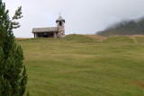 A simple chapel along the way to our high point, Rifugio Daniel (2228m)