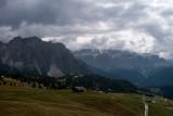 Gruppo del Sella in the distance