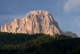 Sassolungo---early Sunday morning, from our balcony