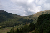 On Sunday we explore the high meadows on the valley's north side, above Selva