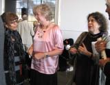 Close friends Gail, Barbara, and Anne