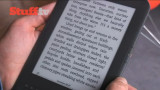 book text on E-Ink screen - the clearest  one