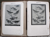 Kindle 3 on Left, Kindle 2 on right