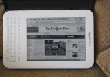 New York Times in Landscape Mode - Kindle 3