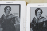 Kindle 3 - Screen contrast comparison and web browser pictures