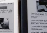 Text closer-up - Kindle 3 & Kindle DX Graphite