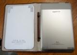 Backs of white Kindle 3 and Kindle 2