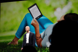Introducing Kindle Paperwhite shown outdoors. iso1250  #00827