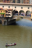 They've gone a bit and are approaching Ponte Vecchio