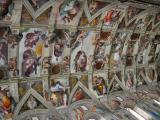 Sistine Chapel, first sight of ceiling