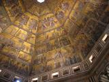 Ceiling  mosaics in the Baptistery