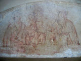 A very faded fresco there with interesting faces