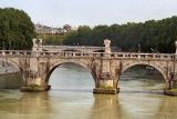 Glimpse of Tiber.  Bus was moving very fast here.