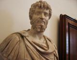 First sculpture at Uffizi entrance (3rd flr)