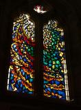 Stained glass window by Roger Wilmot