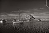 2/8/09- Morro Bay in Sepia