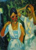 Sunlight- Max Pechstein 1921