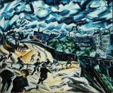 Apocalyptic Landscape- Ludwig Meidner 1913