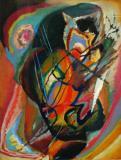 Untitled Improvisation III- Wassily Kandinsky 1914
