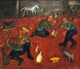 Dancing Soldiers- Mikhail Larionov 1909-1910