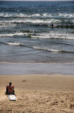 Waiting for the surf to rise