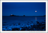 Fidra and the Moon