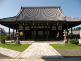 Main hall at Hachiman Hongan-ji