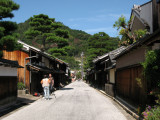 Old streetscape of Shinmachi-dōri
