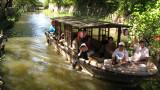 Passing tourist boat
