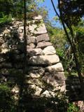 Remnant foundations of Ōmi Hachiman-jō