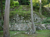 Foundations of Hideyoshi's former palace